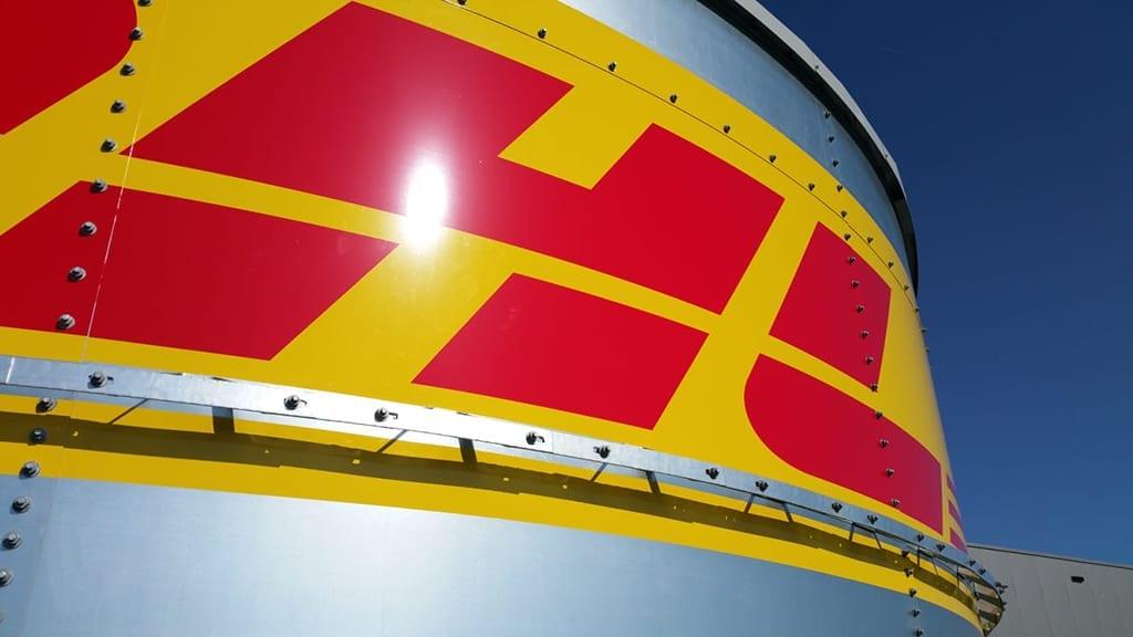 DHL Amsterdam Die Niederlande